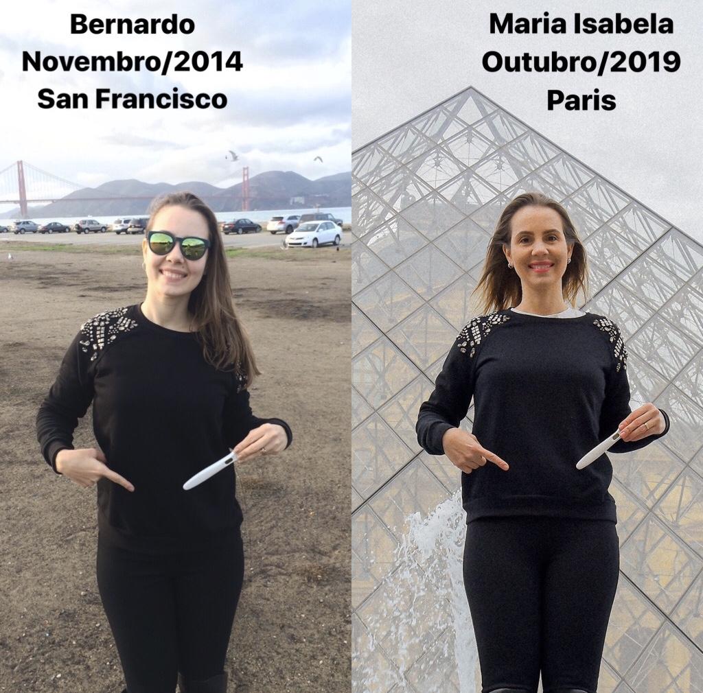 Descoberta gravidez Bernardo e Maria